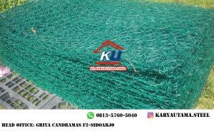 Harga Kawat Bronjong Murah Tebal Kawat 2,7mm 1 Kubik Galvanis